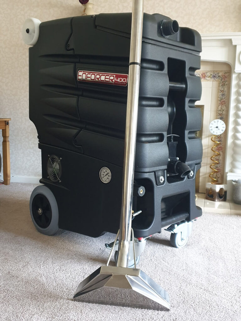 Clean King carpet cleaning equipment